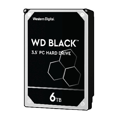 WD Black HDD 6TB SATA